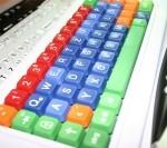 Tastatur bunt web