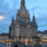 Frauenkirche in Dresden, Abendstimmung
