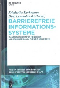 Buchcover Age of Access Barrierefreie Informationssysteme
