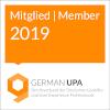 Logo Mitglied bei German UPA