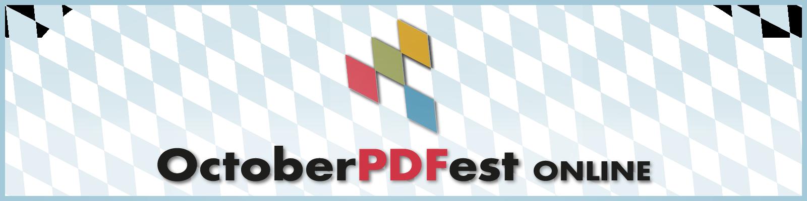 Logo OctoberPDFest Online