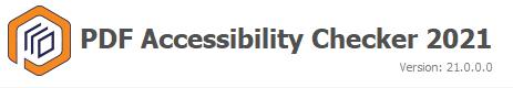 PDF Accessibility Checker 2021